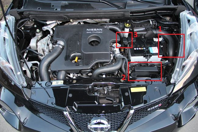 Под капотом Nissan Juke